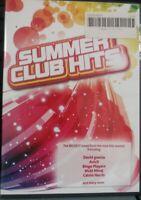 Summer Club Hits 2XCD DAVID GUETTA AVICII BINGO PLAYERS MICKI MINAJ ETC