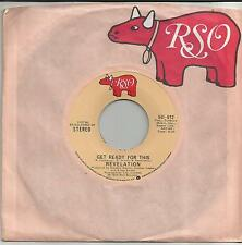 REVELATION Get ready for this US SINGLE RSO 1975