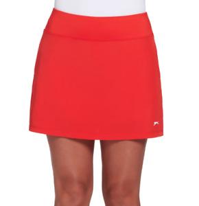 Slazenger Golf Skort Womens Hydro DRI Pleated 15 Inch Bold Hot Red XL or 2XL
