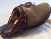 Born Clog Slip On Size 8 Brown