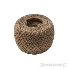 250m Natural Garden Jute Twine String Ball Roll Plant Tie Back Ties Line