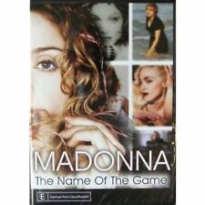 MADONNA THE NAME OF THE GAME DVD =REGION 0 AUSTRALIAN BRAND NEW AND SEALED