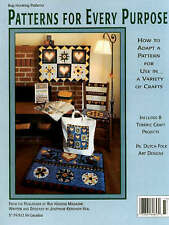 Patterns for Every Purpose: How to Adapt a Pattern for Use in a Variety of Craft