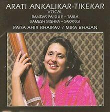 Ankalikar-Tikekar, Arati-Raga Ahir Bhairav/Mira Bhajan CD NEW