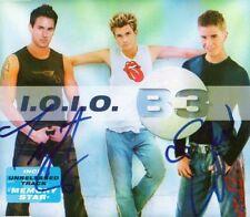 """B3 Autographs Signed CD Cover """"OK OK"""""""