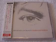 Michael Jackson You Rock My World Japan Japanese JPN CD Single OBI Very Rare