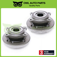Pair Set Of 2 Wheel Bearing Hub Assembly Fit Mini Cooper 2002-2006 W/ABS 513226