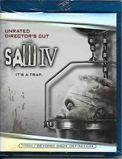 Saw IV (Blu-ray Unrated Director's Cut) New Factory Sealed