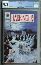 Harbinger #4 CGC 9.2 Mail Order Coupon Included Valiant
