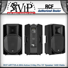 "RCF ART 735-A MK4 Active 2Way Professional 15"" PA Powered Speaker 1400W Amplifie"
