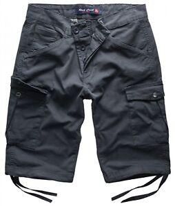 Herren Shorts Cargoshorts Bermuda Hose Sommer Short Cargo Shorts RC-393 W29-W42