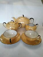 Early 1900s (Antique)PK Unity Germany Lusterware Teaset.I have documents.