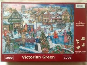 Brand New House of Puzzles 1000 Piece Jigsaw Puzzle - VICTORIAN GREEN