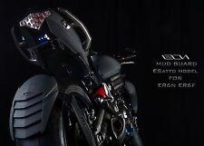 Rear Splash Fender Mud Guard Pure Carbon for Kawasaki ER-6n/ER-6f/Versys 650