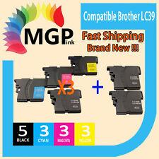 14 GENERIC INK CARTRIDGE LC39 for BROTHER DCPJ125 DCPJ315w J515w