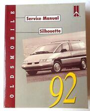 1992 OLDSMOBILE SILHOUTTE VAN  SERVICE REPAIR MANUAL
