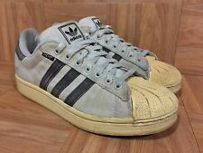 VTG🔥 Adidas Originals Superstar 2 Chocolate Brown Hemp Sneakers Sz 8.5 Vintage