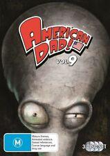 AMERICAN DAD Season 9 Brand NEW DVD Comedy Animation Cartoon M R4 Fast & Free Po