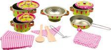 Kochgeschirr Elen Set Blechgeschirr Küche Zubehör Töpfe Geschirr für Kinder