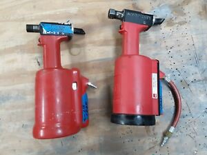 2 Used Huck 230 Aircraft Rivet Installation Tools,No Nose,For Parts or Repair