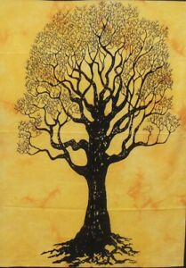 Dry Tree Hippie Floral Jungle Art Wall Hanging Decor Poster Tapestry Table Cloth