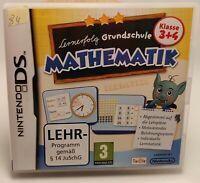 Grundschule Mathematik 3+4 Klasse Nintendo DS, NDS, 2DS / 3DS mit Hülle