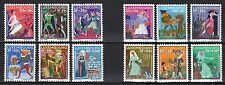 Luxembourg - 1965-66 Both complete Fairytales sets MNH