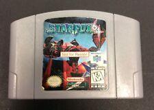 Starfox 64 Nintendo 64 Not for Resale Demo Game
