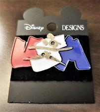 Disney Designs Atlanta '96 Olympics, USA Track Team Pin, Pewter Mickey, NOC-RARE