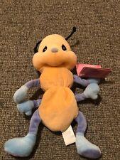 Vintage Precious moments Tender Tails Stuffed Plush Caterpillar Stuffed Animal