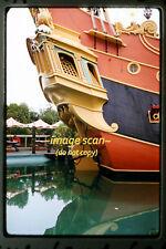1959 Disneyland California Theme Park, Pirate Ship, Original Photo Slide a17b
