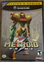 Metroid Prime (Nintendo GameCube, 2002) Complete. Excellent Condition