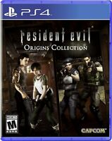 Resident Evil Origins Collection PS4 (Sony PlayStation 4, 2016) New
