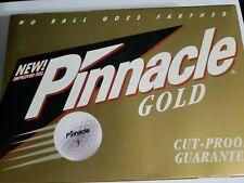 Pinnacle Gold Cut Proof Golf Balls - One Dozen (12)