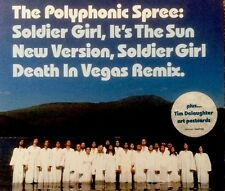 The Polyphonic Spree - Soldier Girl (CD2003) Death In Vegas Mix + Free Postcards