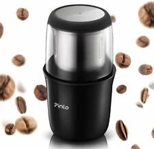 Electric Coffee Grinder Portable, with Stainless Steel Blade Removable, Up to 12