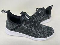 NEW! Adidas Women's Cloudfoam Pure Lace Up Shoes Black/White #DB0694 195F tz