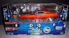 Muscle Machines - 1:18 & 1:64 - California Build It - '69 Dodge Charger RT Hemi