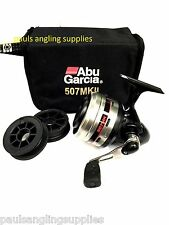 New Model Boxed ABU GARCIA * 507   * Closed Face Fishing Reel
