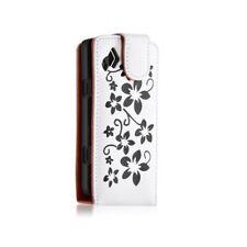 Housse étui coque pour Samsung Wave II S8530 couleur blanc + Film de protection