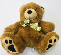 """Dan Dee Collectors Choice Plush Brown Teddy Bear 12"""" Bow Tie W Bear Pictures"""