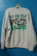 Big Dogs Sweatshirt Crew Gray Long Sleeve Large Men