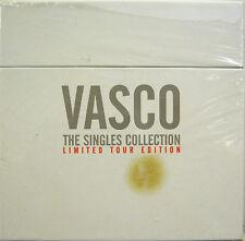 """VASCO ROSSI  """"THE SINGLES COLLECTION""""  box  45' giri lim.edition sigillato"""