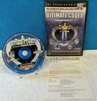 Action Replay Ultimate Codes: Kingdom Hearts 2 (Sony PlayStation 2, 2006) Tested