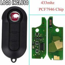 Chiave Chip elettronica COMPATIBILE FIAT 500 X L PUNTO EVO PANDA LANCIA 433Mhz