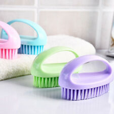 Plastic Glove Handle Scrub Cleaning Brush For Shoes Clothes Decontamination Kit.