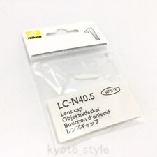 Nikon 40.5 mm spring type lens cap LC-N 40.5 WH ( White ) JAPAN