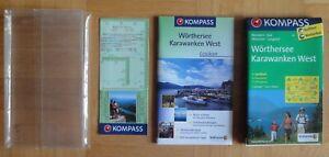 KOMPASS-Karte #61: Wörthersee, Karawanken West. Mit Lexikon. 1:50.000