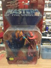 ORKO Masters of the Universe He-Man Mattel 2002 Action Figure NIP 200X