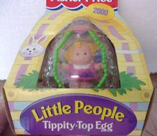 New Fisher Price 2000 Easter Collectible Tippety-Top Egg Sarah Lynn